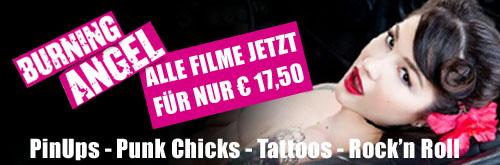 Alle Filme von Burning Angel jetzt für nur € 17,50