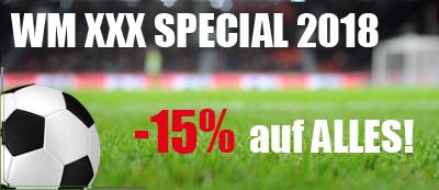 WM Special | Zum Finale -15% auf ALLES!