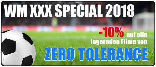 WM Special | -10% auf alle lagernden Filme von Zero Tolerance