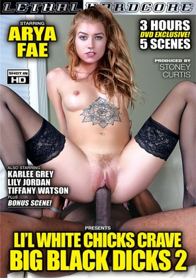 Lil' White Chicks Crave Big Black Dicks 2