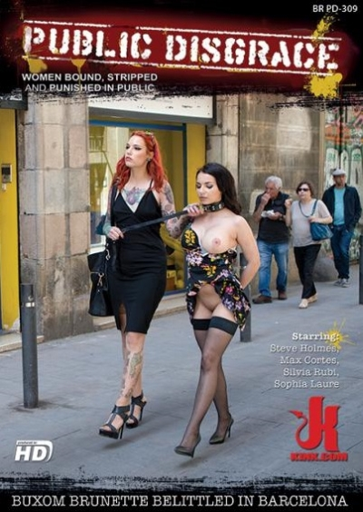 Public Disgrace: Buxom Brunette Belittled In Barcelona