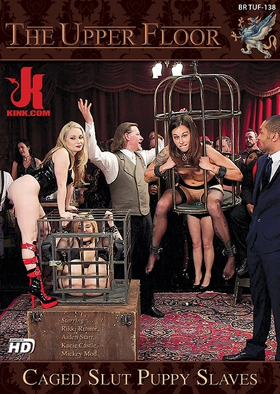 The Upper Floor: Caged Slut Puppy Slaves