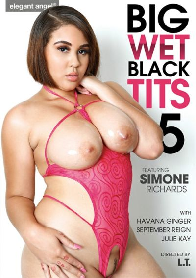 Big Wet Black Tits 5