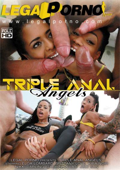 Triple Anal Angels